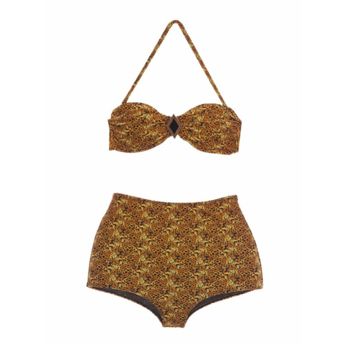 Triya Biquíni hot pants 'Leopardo' - Unavailable