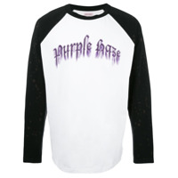 Palm Angels Moletom 'purple Haze' - Branco