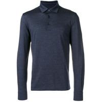 Ermenegildo Zegna Camisa Com Logo - Azul