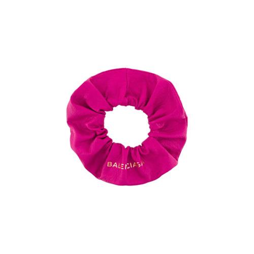 Imagem de Balenciaga Acessório para cabelo de couro - Pink & Purple