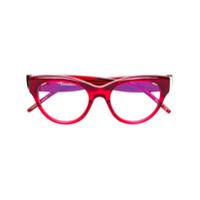 Pomellato Eyewear Óculos De Gatinho - Red