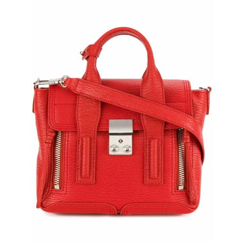 Imagem de 3.1 Phillip Lim Bolsa tote de couro - Vermelho