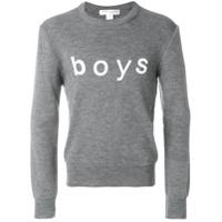 Comme Des Garçons Shirt Boys Moletom 'boys' - Grey