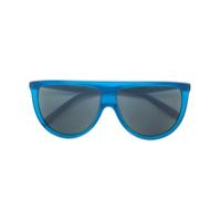 Céline Eyewear Óculos De Sol 'thin Shadow' - Azul