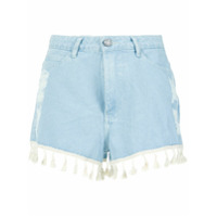 Pop Up Store Short Jeans Com Franjas - Unavailable
