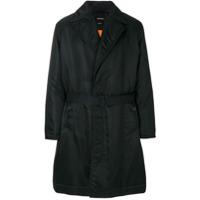 Calvin Klein 205W39Nyc Trench Coat Slim - Preto