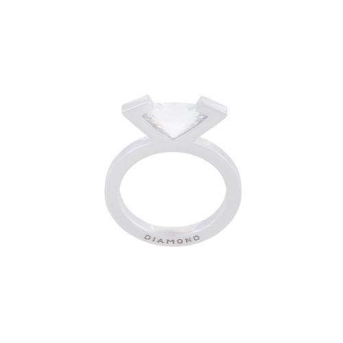 Imagem de Mehem Kit 2 anéis com zircônias - Metallic