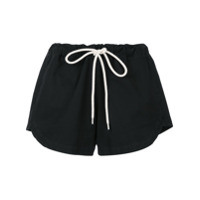Bassike Shorts De Canvas - Preto