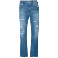 Dondup Calça Jeans Cropped - Azul