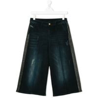 Diesel Kids Calça Jeans Pantalona - Azul