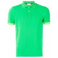 Capricode Camisa Polo Com Contraste - Green