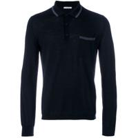 Boglioli Camisa Polo - Azul