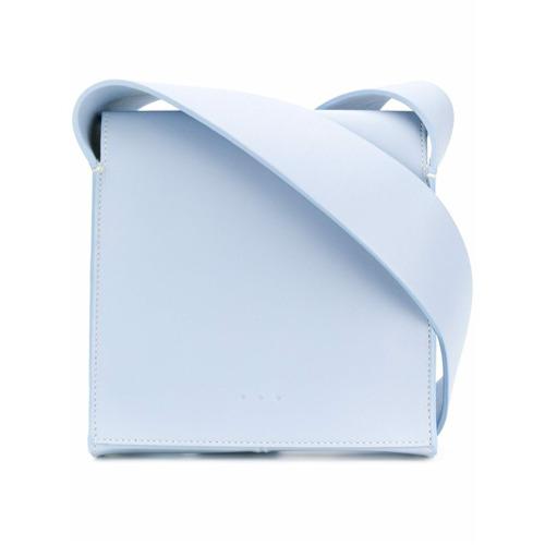 Imagem de Aesther Ekme Bolsa transversal de couro - Azul