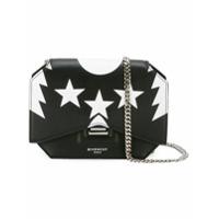 Givenchy Bolsa Transversal De Couro 'bow-Cut' - Preto
