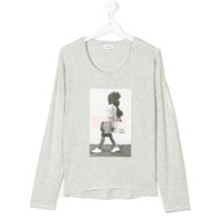 Dkny Kids Camiseta Com Logo Estampado - Grey
