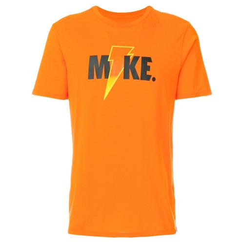 Nike Camiseta com estampa 'Jordan' - Amarelo E Laranja
