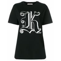 Christopher Kane Camiseta Com Estampa - Preto