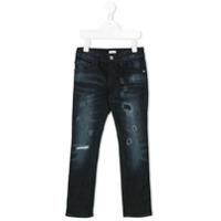 Armani Junior Calça Jeans - Azul