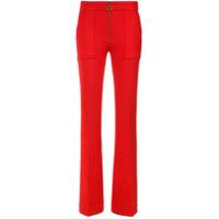 A.brand Calça Flare Moura - Vermelho