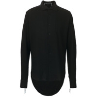 Cedric Jacquemyn High Low Hem Shirt - Preto
