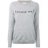 Chinti & Parker Suéter 'excuse Me' De Cashmere - Grey