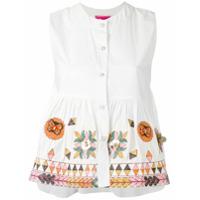 Amuse Blusa Com Botões 'muguet' - Branco