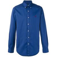 Polo Ralph Lauren Camisa Mangas Longas - Azul