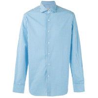 Alessandro Gherardi Camisa Xadrez - Azul