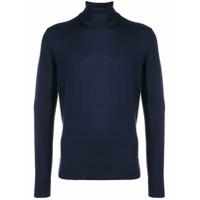 Calvin Klein Suéter Gola Alta - Azul