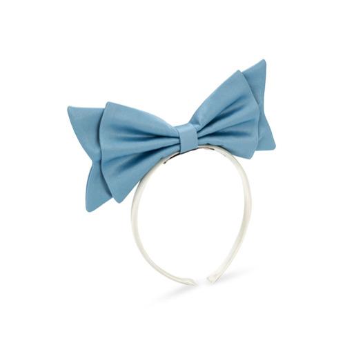 Hucklebones London Present Bow hairband - Azul