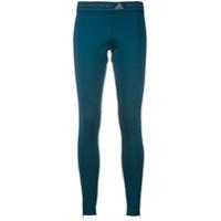 Adidas By Stella Mccartney Calça Legging 'run' - Azul