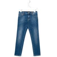 Dolce & Gabbana Kids Calça Jeans Slim Fit - Azul