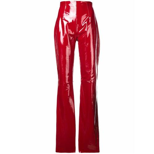 Imagem de 16Arlington Calça flare - Vermelho