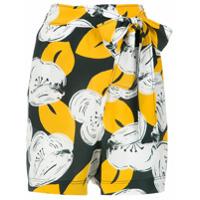 A.brand Short Wrap Com Amarração - Estampado