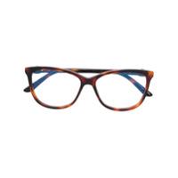 Cartier Armação De Óculos 'c Décor' - Marrom