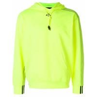 Adidas Originals By Alexander Wang Moletom Jacquard - Amarelo E Laranja