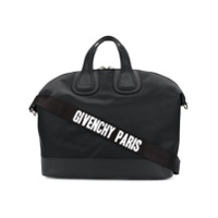 Givenchy Mala 'nightingale' De Couro - Preto