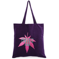 3.paradis Bolsa Tote Com Estampa - Pink & Purple