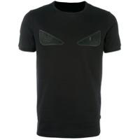 Fendi Camiseta Mangas Curtas - Preto