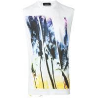 Dsquared2 Camiseta Estampada - Branco