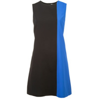 Alice+Olivia Vestido Color Block - Preto