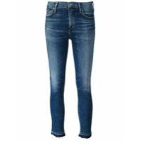 Citizens Of Humanity Calça Jeans Cropped - Azul