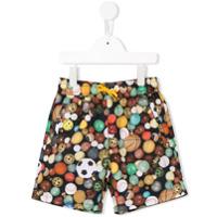 Paul Smith Junior Shorts De Natação Com Estampa - Estampado