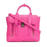 3.1 Phillip Lim Bolsa Modelo 'pashli' De Couro - Pink & Purple