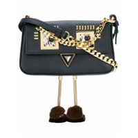 Fendi Bolsa Transversal 'faces' - Preto