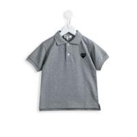 Comme Des Garçons Play Kids Camisa Polo Mangas Curtas - Grey
