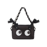 Anya Hindmarch Clutch 'glitter Eyes' - Preto
