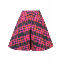 Delpozo Shorts Estampado - Pink & Purple
