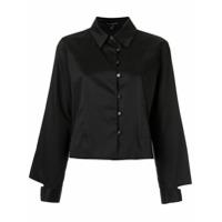 Alcaçuz Camisa Cropped - Preto