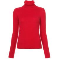 Ralph Lauren Collection Suéter De Cashmere Gola Alta - Vermelho